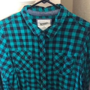 Juniors Arizona XL plaid flannel